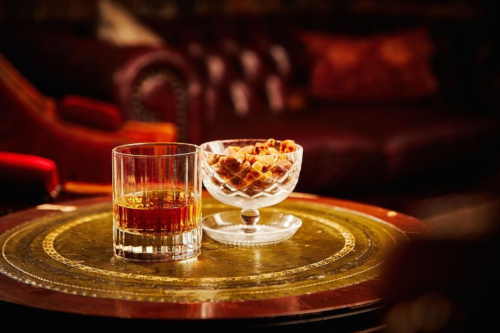 whiskey bar snacks nuts